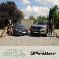 Hundeschule Landshut mit Autos vom Autohaus Priller